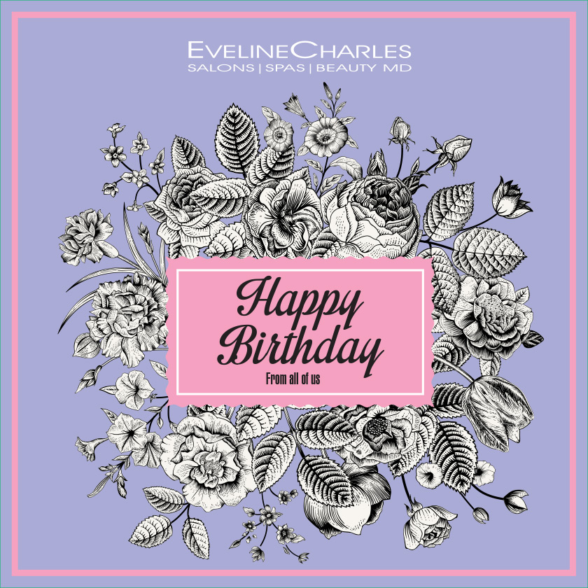 Happy birthday 5 evelinecharles hair salons and day spas happy birthday 5 bookmarktalkfo Images