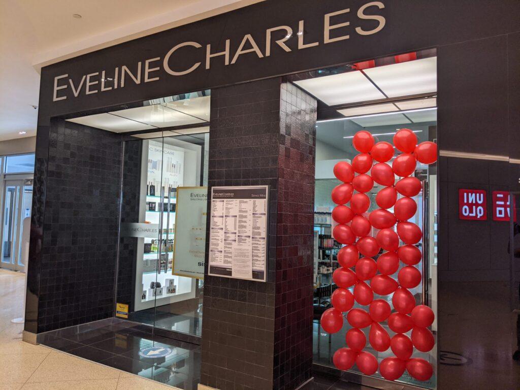 Red Balloon Wednesdays Balloon in Window